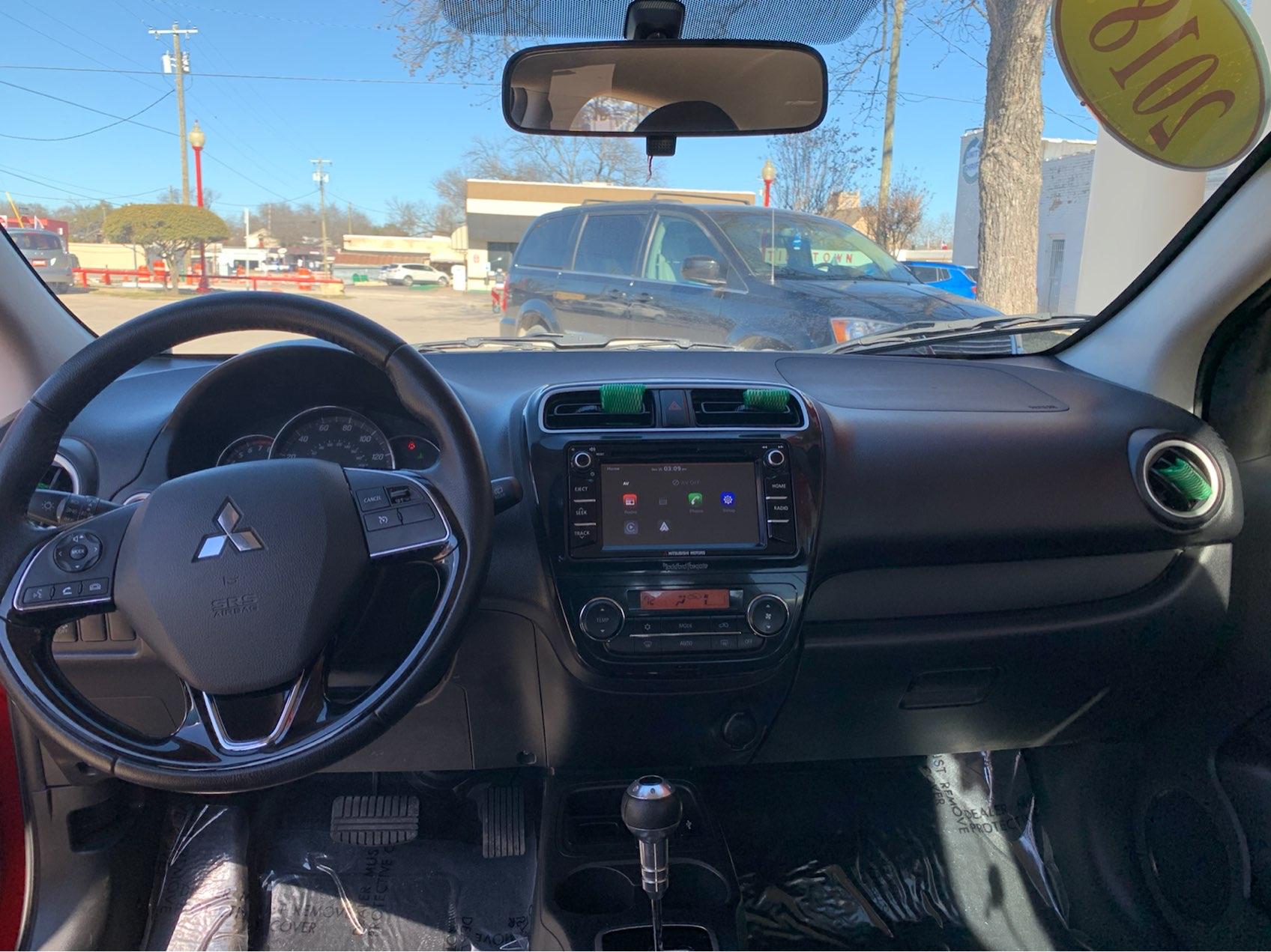 used vehicle - Sedan MITSUBISHI MIRAGE 2018