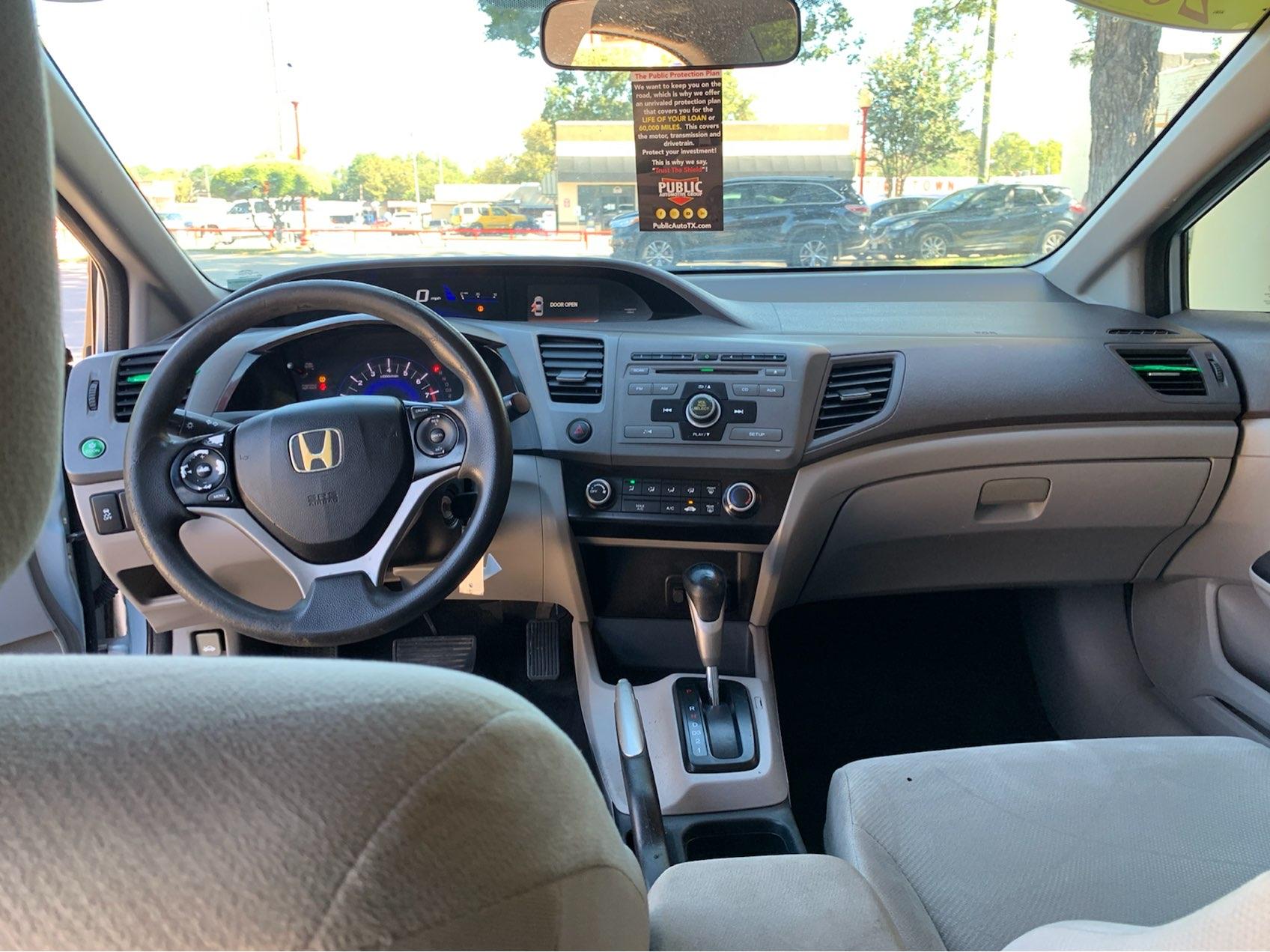used vehicle - Sedan 5-Speed Automatic HONDA CIVIC SDN 2012