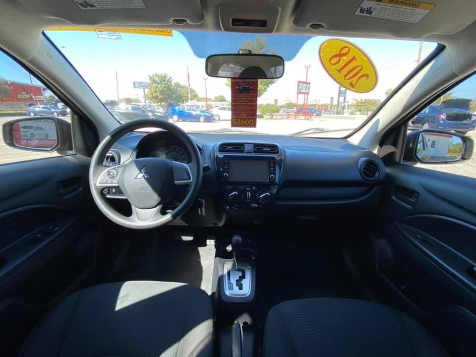 used vehicle - Sedan MITSUBISHI MIRAGE G4 2018