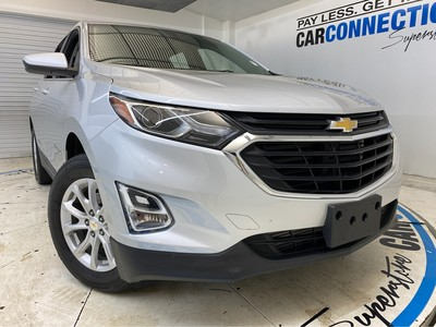Car Connection Superstore - Used CHEVROLET EQUINOX 2018 CAR CONNECTION INC. LT