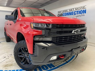 Car Connection Superstore - Used CHEVROLET SILVERADO-1500 2019 CAR CONNECTION INC. LT TRAIL BOSS
