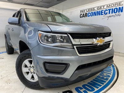 Car Connection Superstore - Used CHEVROLET COLORADO 2019 CAR CONNECTION INC. 4WD WORK TRUCK