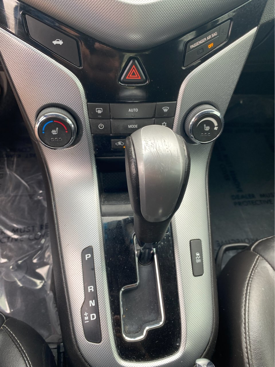 used vehicle - Sedan CHEVROLET CRUZE 2015