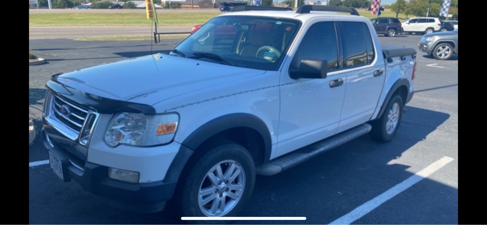 used vehicle - SUV FORD EXPLORER SPORT TRAC 2007