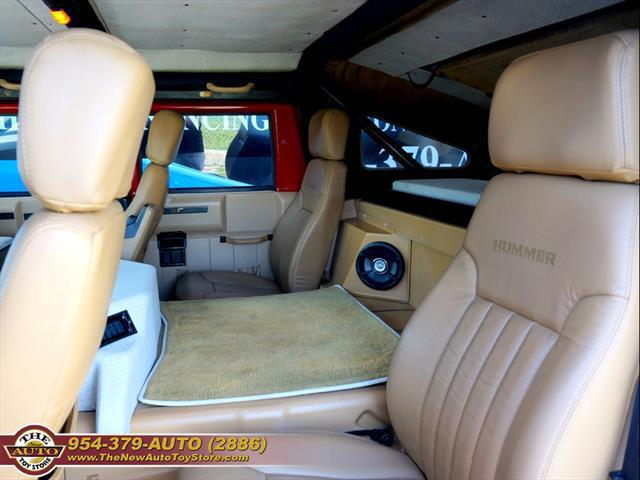 used vehicle - SUV AM General Hummer 1999