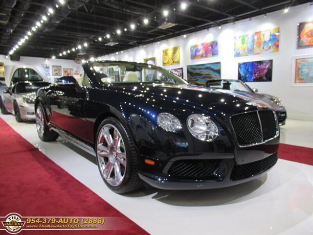 Used Bentley Continental-Gtc-V8 2014 POMPANO