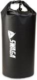 SWAGA 30L Dry Sack Waterproof Sports Bag - Black
