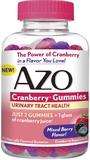Azo Cranberry Gummies