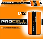 Procell D12 Alkaline Batteries