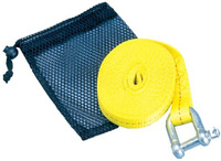 TS-12 ATV Tow Strap With Shackle and Mesh Bag