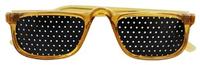 Half Lens Vision Training Pinhole Glasses