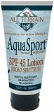 AquaSport SPF 45 Sun Lotion