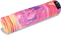 Salvatore Principe by Zennery Sand Washed Yoga Mat Towel - Emerging Hearts