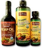 Organic Cold Pressed Hemp Oil