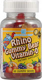 Rhino Vitamin D Bears