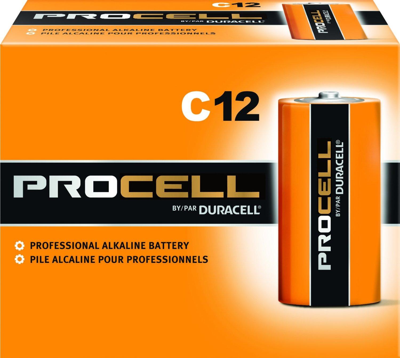 ProCell C12 Alkaline Batteries