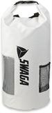 SWAGA 30 L Dry Sack Waterproof Sports Backpack - White