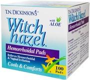 Hemorrhoidal Pads