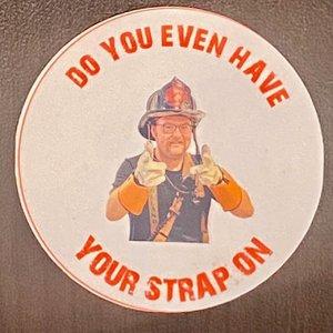 Keegan Dale III Radio Strap Sticker