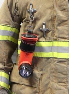Leather Firefighter Flashlight Strap