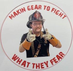 Keegan Dale III Making Gear Sticker