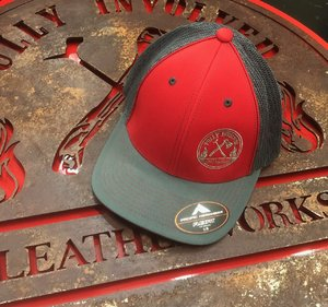 Fully Involved Leatherworks Ball Cap