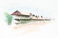 Saratoga Clubhouse WaterColor
