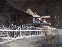Saratoga Excitement by Rich Gabriel