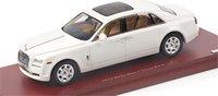 2012 Rolls-Royce Ghost EWB in English White Model Car in 1:43 Scale by Truescale Miniatures