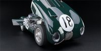 1953 Jaguar C-Type 24H Le Mans Winner #18 by CMC in 1:18 Scale