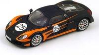 2013 Porsche 918 Spyder Weissach Model Car in 1:43 Scale by Spark