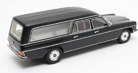 1972 Mercedes-Benz V114 Pullman Hearse Resin Model in 1:18 Scale by Cult Models