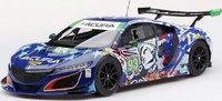 "Acura NSX GT3 #93 Michael Shank Racing ""Statue of Liberty"" in 1:18 Scale by Topspeed"