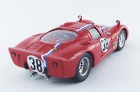1968 ALFA ROMEO 33.2 Coupe #38 Le Mans Test Diecast Model Car in 1:43 Scale by Best Model