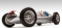 1938 Mercedes-Benz W154, GP France Diecast Model Car by CMC in 1:18 Scale