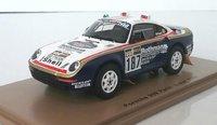 1986 Porsche 959 Paris-Dakar Kussmaul/Ungerin 1:43 scale by Spark
