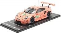 Porsche 911 (991)RSR Pink Pig, Winner LMGTE Pro LeMans 2018 in 1:18 scale by IXO
