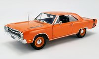1969 Dodge Dart GTS 440 - Orange Diecast Model by Acme in 1:18 Scale