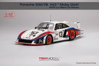 "Porsche 935/78 #43 ""Moby Dick"" 1978 in 1:12 Scale by TSM"