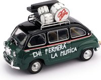 FIAT 600D MULTIPLA POOH in 1:43 scale by Brumm
