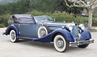 1939 HORCH 855 ROADSTER in 1:18 Scale by Sun Star