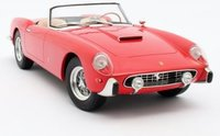 1957 Ferrari 250GT Cabriolet Series 1 Red in 1:18 Scale by Matrix