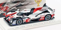 2019 Toyota #8 TS050 HYBRID Le Mans Winner in 1:43 Scale by Spark