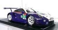 Porsche 911 GT3 RSR type 991 Rothmans #91 24H Le Mans 2018 in 1:18 by IXO