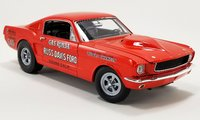 1965 Ford Mustang AF/X - Gas Ronda Diecast Model by Acme in 1:18 Scale
