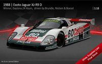 1988 Jaguar Xjr-9 #66 3rd Daytona 24hrs in 1:18 scale By Exoto
