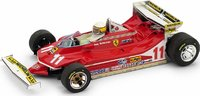 1979 Ferrari 312 T4 GP MONACO SCHECKTER Model Car in 1:43 Scale by Brumm