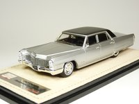 1965 Cadillac Fleetwood 60 Special Silver in 1:43 Scale by GLM