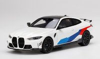 BMW M4 M-Performance (G82) Alpine White in 1:18 scale by Topspeed