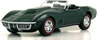 1968 Corvette in British Racing Green 1:24 scale by The Danbury Mint